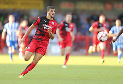 Shamir Fenelon of Crawley Town - Mandatory by-line: Paul Terry/JMP - 22/07/2015 - SPORT - FOOTBALL - Crawley,England - Broadfield Stadium - Crawley Town v Brighton and Hove Albion - Pre-Season Friendly