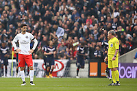 Arbitre Lionel Jaffredo / Javier Pastore - 15.03.2015 - Bordeaux / Paris Saint Germain - 29e journee Ligue 1<br />