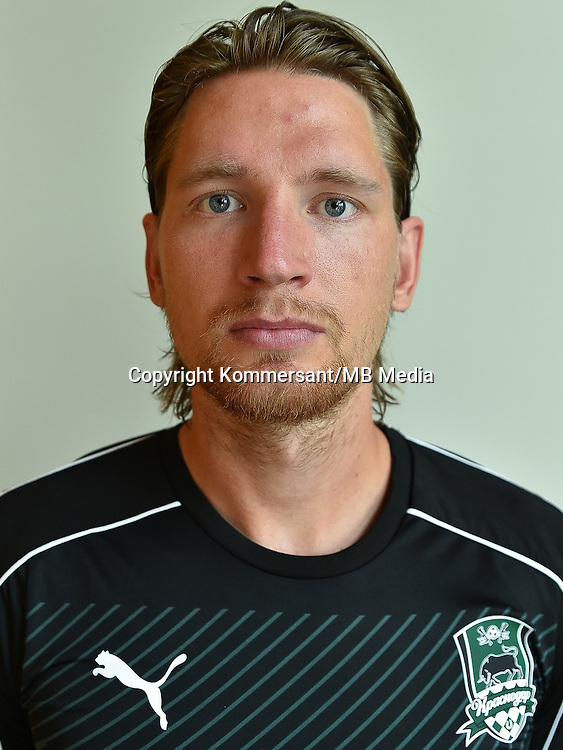 Portraits, FC Krasnodar, August 2016, Russian Premier League