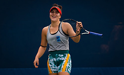 August 21, 2019, New York, NEW YORK, USA: Bianca Andreescu of Canada during practice at the 2019 US Open Grand Slam tennis tournament (Credit Image: © AFP7 via ZUMA Wire)