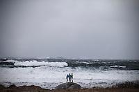 Det mektige havet.<br /> Foto: Svein Ove Ekornesv&aring;g