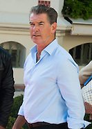 "Pierce Brosnan in Deauville for the premiere of ""November Man"""