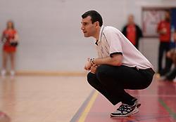 Bristol Flyers' coach, Andreas Kapoulas - Photo mandatory by-line: Alex James/JMP - Mobile: 07966 386802 - 28/03/2015 - SPORT - Basketball - Bristol - SGS Wise Campus - Bristol Flyers v London Lions - British Basketball League