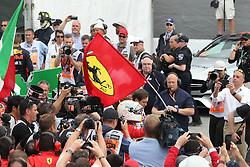 June 9, 2018 - Montreal, Canada - Motorsports: FIA Formula One World Championship 2018, Grand Prix of Canada , #5 Sebastian Vettel (GER, Scuderia Ferrari) (Credit Image: © Hoch Zwei via ZUMA Wire)