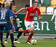 FODBOLD: Gustaf Nilsson (Silkeborg IF) under kampen i ALKA Superligaen mellem Silkeborg IF og FC Helsingør den 11. august 2017 på Jysk Park i Silkeborg. Foto: Claus Birch