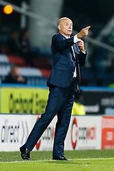 Manager Uwe Rosler of Wigan gestures - Photo mandatory by-line: Rogan Thomson/JMP - 07966 386802 - 16/09/2014 - SPORT - FOOTBALL - Huddersfield, England - The John Smith's Stadium - Huddersfield Town v Wigan Athletic - Sky Bet Championship.