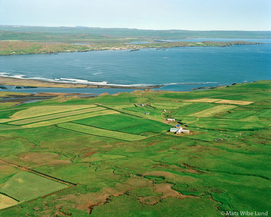 Syðri-Vík séð til norðurs, Vopnafjarðarhreppur / Sydri-Vik viewing north. Vopnafjardarhreppur.