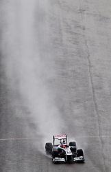 27.08.2011, Circuit de Spa, Francorchamps, BEL, F1, Grosser Preis von Belgien, 3 freies Training, im Bild Rubens Barrichello (BRA), AT & T Williams // during practice tree at Formula One Championships 2011 Belgian Grand Prix held at the Circuit de Spa, Francorchamps, Belgium, 27/8/2011, EXPA Pictures © 2011, PhotoCredit: EXPA/ J. Groder