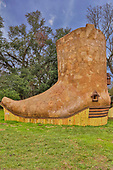 Cowboy boot-shaped house