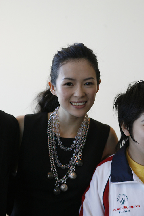 Actress Ziyi Zhang at a special event to promote the 2007 Special Olympics World Summer Games in Shanghai at U.N. Headquarters in New York on Thursday 10 November 2006. .<br />