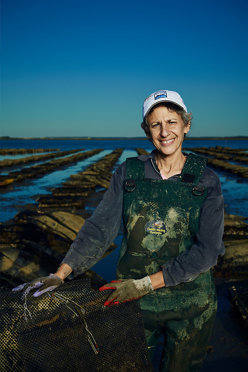 Barnstable Oyster owner and farmer Tamar Haspel