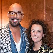 NLD/Amsterdam/20140308 - Modeshow Mart Visser 2014 S/S, Maik de Boer en zus