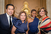 From left, Eric Baguisa, Dr. Jennifer Angeles-Baguisa, Dominique Sabbs, and Miriam Rodriguez at the Mercy Hospital & Medical Center's 51st Dinner Dance Gala. The event took place at the Hilton Chicago on September 28, 2018. Dr. Robert M. Gasior and Honorable Patrick Huels were honored at the event, emceed by Kristen Nicole, anchor at Fox 32 Chicago. Proceeds will benefit Cardiovascular Services including screening, intervention, rehabilitation, wellness and prevention programs for patients and families. (Photo:Natalie Battaglia)