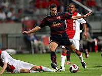 Photo: Maarten Straetemans.<br /> Arsenal v Ajax. LG Amsterdam Tournament. 04/08/2007.<br /> Robin Van Persie (Arsenal) misses a big chance