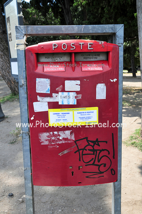 Rome, Italy, Postbox