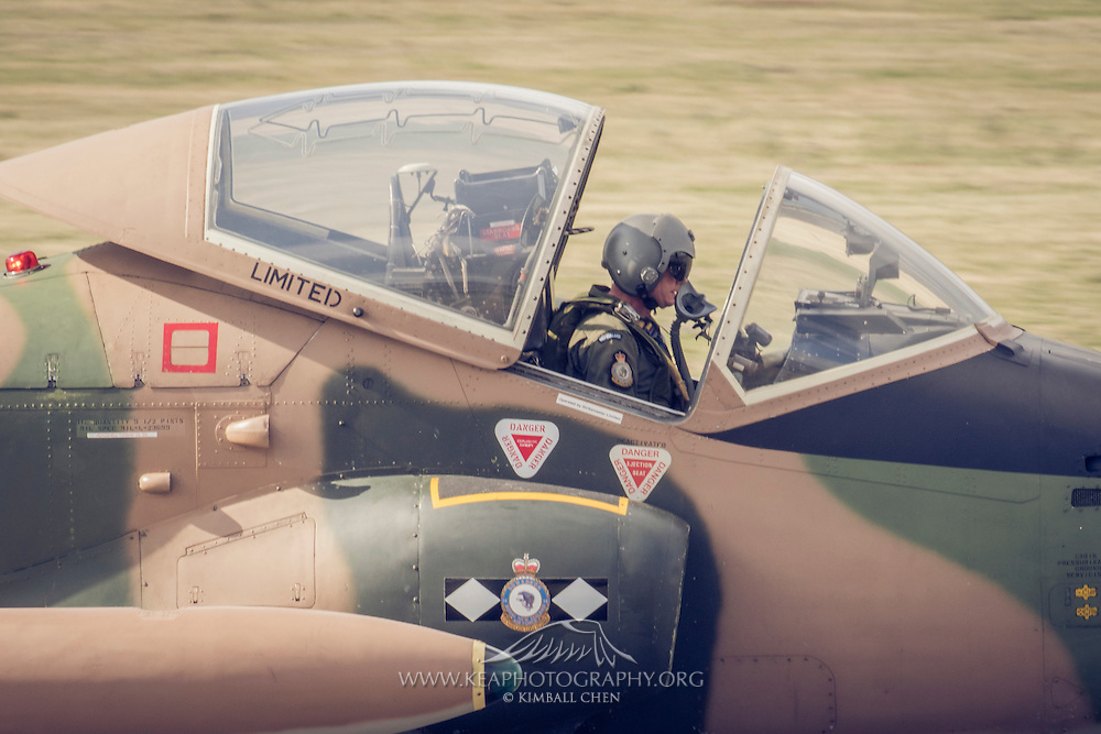Strike master Cockpit at Warbirds over Wanaka 2016, New Zealand