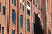 Stilwerk, Backsteinfassade, Altona, Hamburger Hafen, Hamburg, Deutschland.|.Stilwerk, brick buidling, Altona, port, Hamburg, Germany