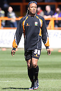 Picture by David Horn/Focus Images Ltd +44 7545 970036.20/04/2013.Edgar Davids , player/manager of Barnet before his team's final game at Underhill Stadium before the npower League 2 match at Underhill Stadium, London.