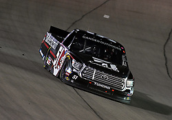 March 1, 2019 - Las Vegas, NV, U.S. - LAS VEGAS, NV - MARCH 01: Kyle Busch (51) KBM Toyota Tundra drives into turn 1 during the NASCAR Gander Outdoors Truck Series Strat 200 on March 01, 2019, at Las Vegas Motor Speedway in Las Vegas, NV. (Photo by Chris Williams/Icon Sportswire) (Credit Image: © Chris Williams/Icon SMI via ZUMA Press)
