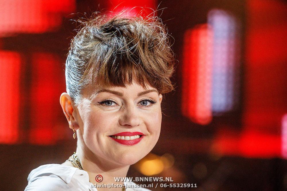 NLD/Hilversum/20160109 - 4de live uitzending The Voice of Holland 2015, Jennie Lena