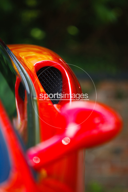 Details of a Ferrari 360 Modena at the Gloucester Motorshow (13/06/10)