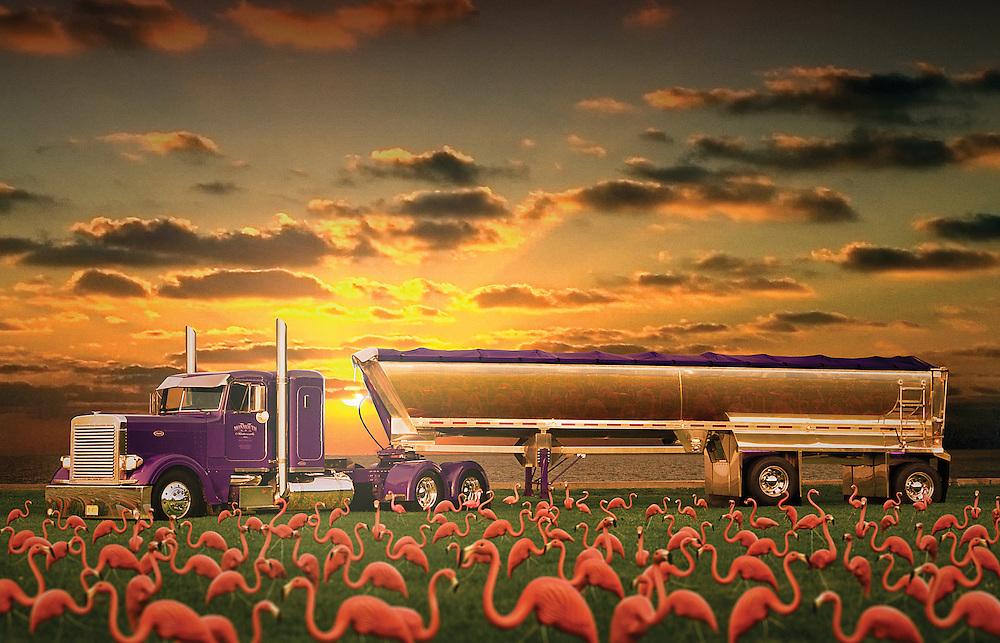 Peterbilt Semi Truck