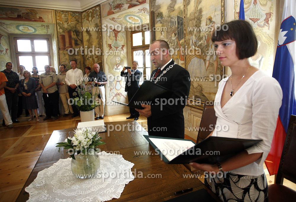 Wedding. (Photo by Vid Ponikvar / Sportal Images)