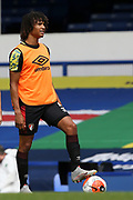 Bournemouth defender Nathan Ake (5) warming up during the Premier League match between Everton and Bournemouth at Goodison Park, Liverpool, England on 26 July 2020.