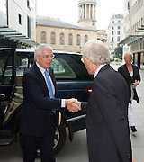 Sir John Major<br /> ex-Prime Minister <br /> arriving at the BBC studios for the Andrew Marr show, London, Great Britain <br /> 16th November 2014 <br /> <br /> <br /> John Major <br /> <br /> <br /> <br /> Photograph by Elliott Franks <br /> Image licensed to Elliott Franks Photography Services