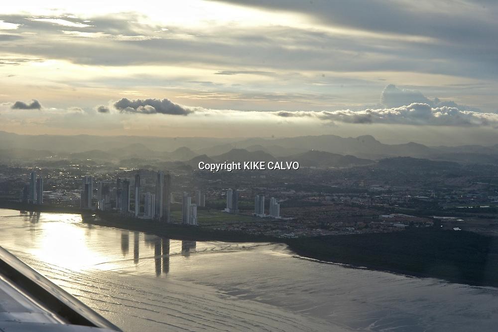 Aerial views of Panama