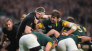 Twickenham. Great Britain,  during, Semi Final 1. South Africa vs New Zealand  2015 Rugby World Cup,  Venue, Twickenham Stadium, Surrey England.   Saturday  24/10/2015.   [Mandatory Credit; Peter Spurrier/Intersport-images]