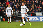 Connor Roberts (23) of Swansea City on the attack during the EFL Sky Bet Championship match between Swansea City and Reading at the Liberty Stadium, Swansea, Wales on 27 October 2018.