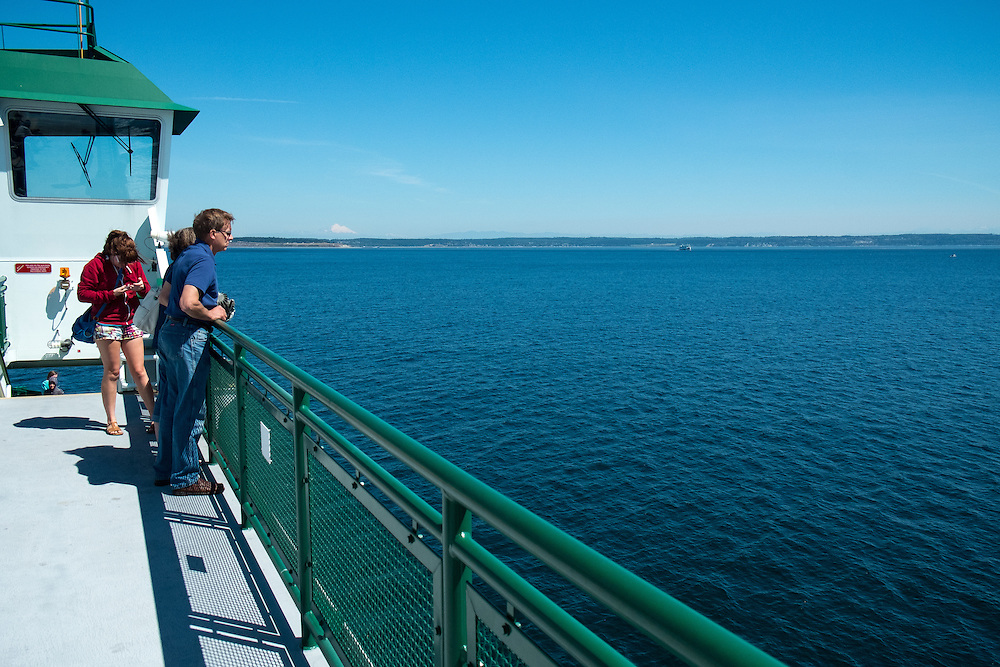 Ferry from Port Townsend to Whidbey Island | August 10, 2014