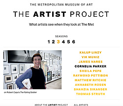 The Artist Project Met Online Feature<br />