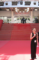 The red steps at Palais des festivals during the 66th Cannes Film Festival 2013