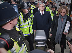 © Licensed to London News Pictures. 16/02/2012. London, UK. Liberal Democrat MP CHRIS HUHNE leaving at Westminster Magistrates court in London on February 16th, 2012 where he faced charges of perverting the course of justice. Former Energy Secretary CHRIS HUHNE is accused of asking his ex-wife VICKY PRYCE to take speeding points on his behalf in 2003. Photo credit : Ben Cawthra/LNP