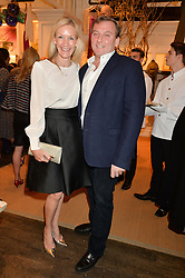 MARC & EMMA FARAH at a party to celebrate the publication of India Hicks: Island Style hosted by Princess Marie-Chantal of Greece, Saffron Aldridge and Amanda Brooks has held at Ralph Lauren, 105-109 Fulham Road, London on 28th April 2015,