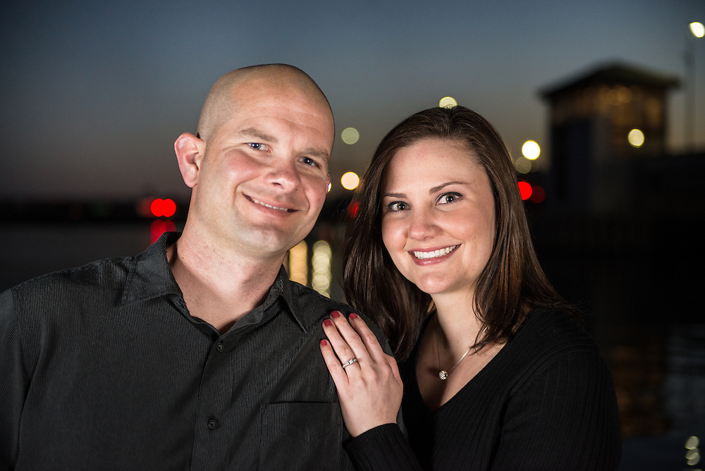 Pete and Gail Engagement   New Bern Photographers