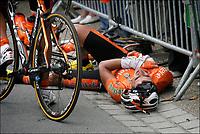 Sykkel<br /> Tour de France 2011<br /> 06.07.2011<br /> Foto: PhotoNews/Digitalsport<br /> NORWAY ONLY<br /> <br /> 5th stage / Carhaix - Cap Frehel<br /> <br />  Ivan Velasco Murillo (Team Euskaltel)