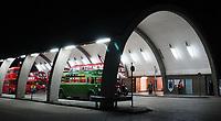 Vintage Buses in London at Night, Newbury Park Underground Station, London, UK, 08 September 2019, Photo by Richard Goldschmidt