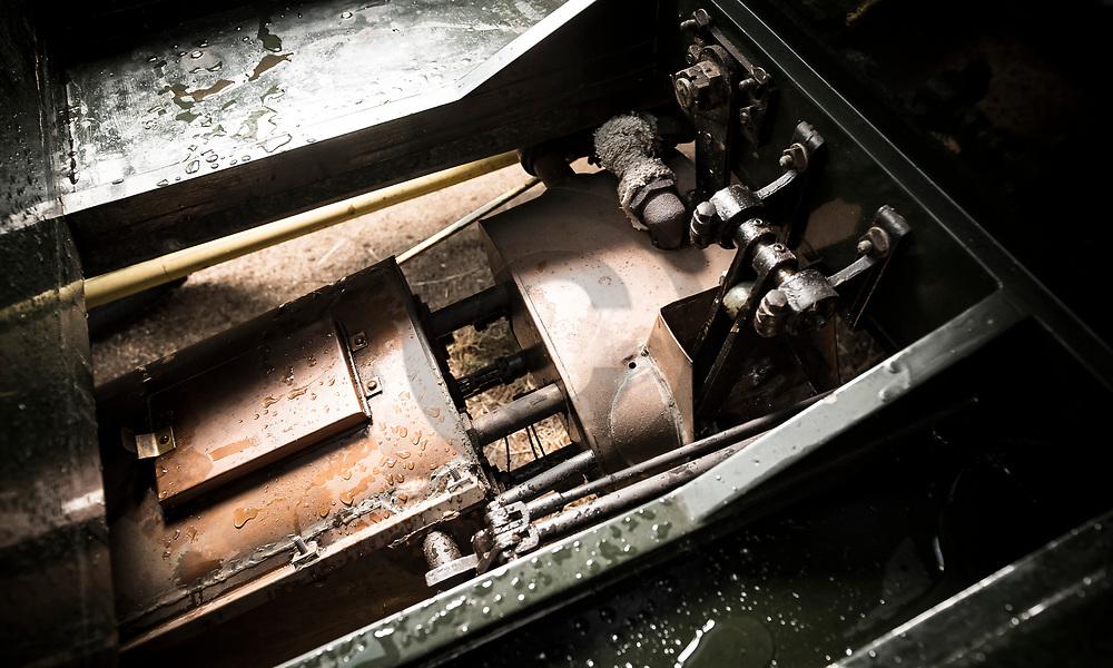 20/07/18 - SAINT VINCENT - HAUTE LOIRE - FRANCE - Essais STANLEY modele 60 10 cv vapeur, carrosserie Runabout de 1910. 5245 - Photo Jerome CHABANNE
