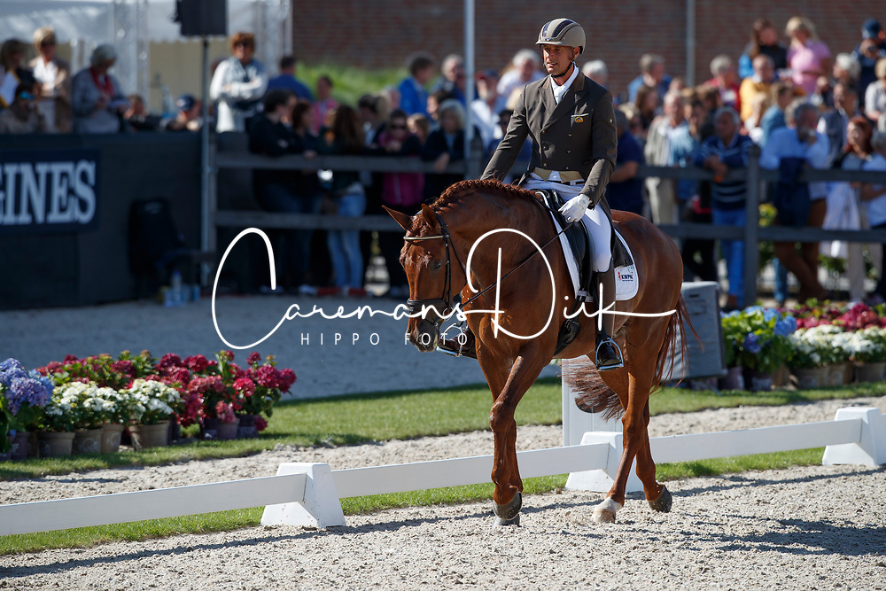 Van Der Meer Patrick, NED, Presidents First Apple<br /> Longines FEI/WBFSH World Breeding Dressage Championships for Young Horses - Ermelo 2017<br /> © Hippo Foto - Dirk Caremans<br /> 05/08/2017