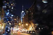 USA New York Manhattan Hell's Kitchen aus der Serie Night Vision Nacht Nachtaufnahme
