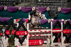 FLÜCKEN Gerrit (GER), California's Sister<br /> Leipzig - Partner Pferd 2019<br /> SPOOKS-Amateur Trophy<br /> Medium Tour<br /> 18. Januar 2019<br /> © www.sportfotos-lafrentz.de/Stefan Lafrentz