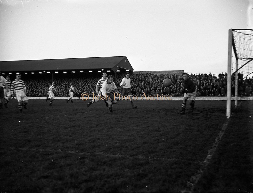 12/12/1954 <br /> 12/12/1954<br /> 12 December 1954<br /> Shamrock Rovers v Waterford F.C. at Glenmalure Park,  Milltown.