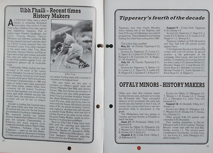 All Ireland Senior Hurling Championship Final, .06.09.1987, 09.06.1987, 6th September 1987, .Kilkenny v Galway, .Galway 1-12, Kilkenny 0-9,.06091987AISHCF, .Senior Kilkenny v Galway,.Minor Tipperary v Offaly,..Offaly, History Makers,