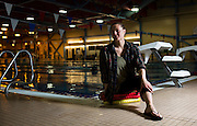 Stephanie Dixon poses for a photo at the Canada Games Centre in Whitehorse on Oct. 27, 2016. Dixon, a decorated Paralympic swimmer, was inducted into Canada's Sports Hall of Fame as a member of the class of 2016.