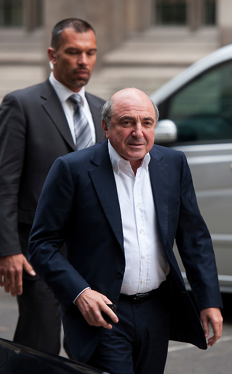 Russian businessman Boris Berezovsky arrives The High Court on October 13, 2011 in London, England. Mr Berezovsky is alleging a breach of contract over business deals with fellow Russian and Chelsea Football Club owner Roman Abramovich and is claiming more than £3.2bn in damages..
