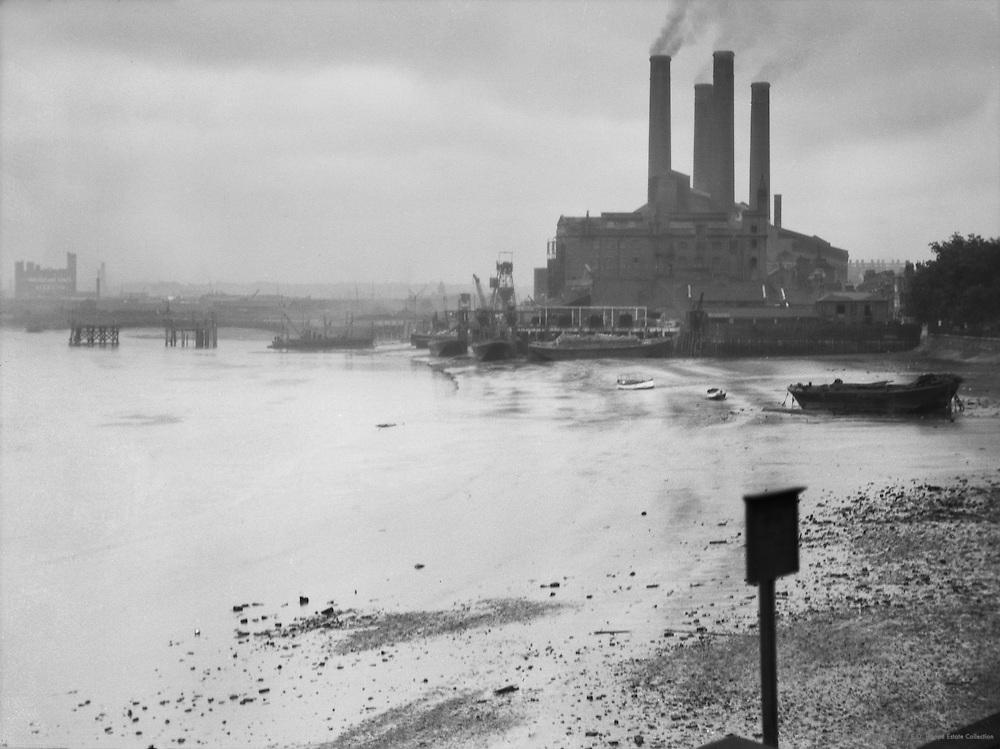 Chelsea Power Station, London, England, 1925