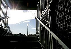 A general veiw of Stade Sapiac, home of Montauban Rugb club. Montauban v Munster,  Heineken Cup Pool A match in Montauban, France.